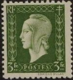 France 1945 Marianne de Dulac (2nd Issue) l