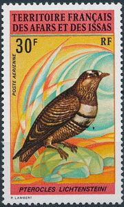 French Territory of the Afars and the Issas 1972 Birds (1st Issue) a