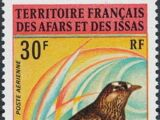 French Territory of the Afars and the Issas 1972 Birds (1st Issue)