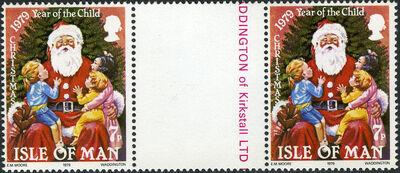 Isle of Man 1979 Christmas and International Year of Child h