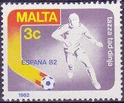 Malta 1982 F.I.F.A. World Cup - Spain a