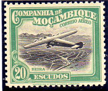 File:Mozambique Company 1935 Inauguration of the Airmail (2nd Issue) o.jpg