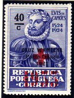Portugal 1933 Red Cross - 400th Birth Anniversary of Camões a