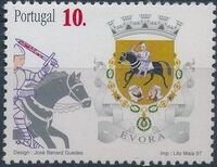 Portugal 1997 Arms of the Districts of Portugal a