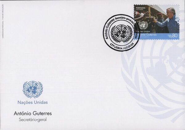 Portugal 2017 António Guterres - UN Secretary-General FDCa