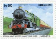 Sierra Leone 1995 Railways of the World 4l