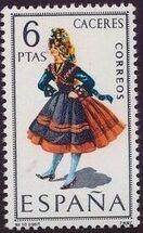 Spain 1967 Regional Costumes Issue j