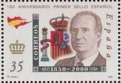 Spain 2000 150th Anniversary of First Spanish Stamp h
