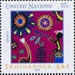 United Nations-New York 2003 Indigenous Art d