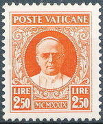 Vatican City 1929 Conciliation Issue k