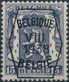 Belgium 1938 Coat of Arms - Precancel (8th Group) a