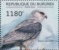 Burundi 2012 Birds of prey e