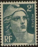 France 1945 Marianne de Gandon (1st Group) b