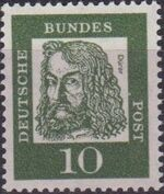 Germany, Federal Republic 1961 Famous Germans d