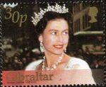 Gibraltar 2002 H.M. Queen Elizabeth II Golden Jubilee c