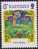 Guernsey 1986 Christmas k