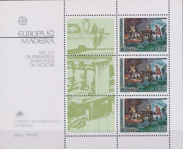Madeira 1982 Europa d