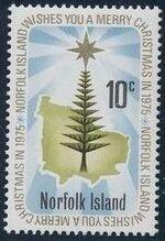 Norfolk Island 1975 Christmas a