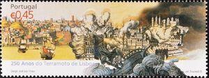 Portugal 2005 250th Anniversary of the Lisbon Earthquake a