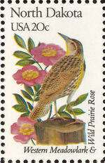 United States of America 1982 State birds and flowers zf