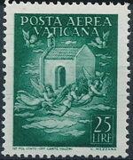Vatican City 1947 Definitives (Air Post Stamps) e