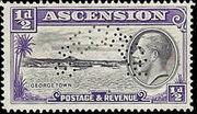 Ascension 1934 George V and Sights of Ascension k