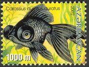 Azerbaijan 2002 Aquarian Fishes d