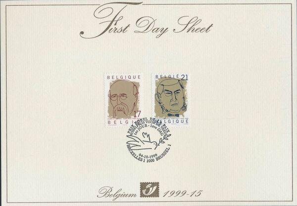 Belgium 1999 Nobel Prize Winners FDSa