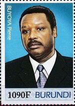 Burundi 2012 Presidents of Burundi - Pierre Buyoya c