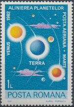Romania 1981 Solar System Planets b