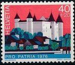 Switzerland 1976 PRO PATRIA - Castles b