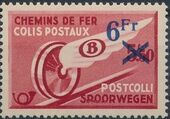 Belgium 1938 Winged Wheel c