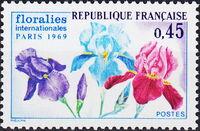 France 1969 3rd International. Flower Show in Paris a
