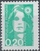 France 1990 Marianne - New Values b