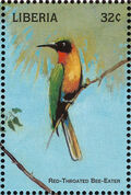 Liberia 1998 Birds of the World c