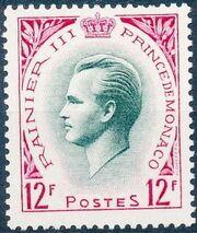 Monaco 1955 Prince Rainier III c