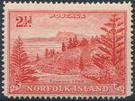 Norfolk Island 1947 Ball Bay - Definitives e