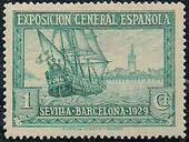 Spain 1929 Seville-Barcelona Exposition a