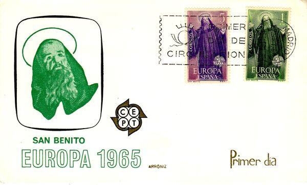 Spain 1965 Europa FDCc