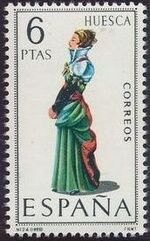 Spain 1968 Regional Costumes Issue l