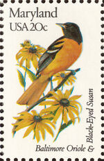 United States of America 1982 State birds and flowers s