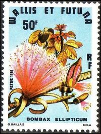 Wallis and Futuna 1979 Exotic Flowers a