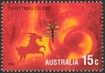 Christmas Island 2002 Year of the Horse j