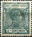Elobey, Annobon and Corisco 1907 King Alfonso XIII d.jpg