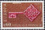 France 1968 EUROPA b