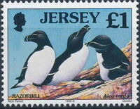 Jersey 1998 Seabirds and waders (2nd Issue) h
