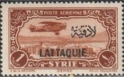 Latakia 1931 Air Post Stamps of Syria 1931 Overprinted b