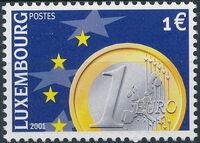 Luxembourg 2001 Euro-Coins e