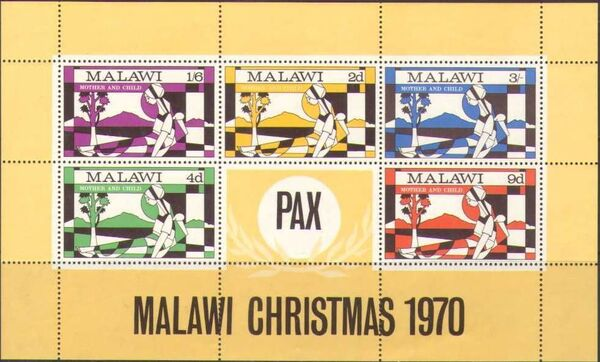 Malawi 1970 Christmas f