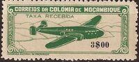 Mozambique 1946 Airplane over Mountainous Region e